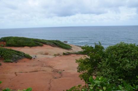 Вулканический пейзаж на Доминике