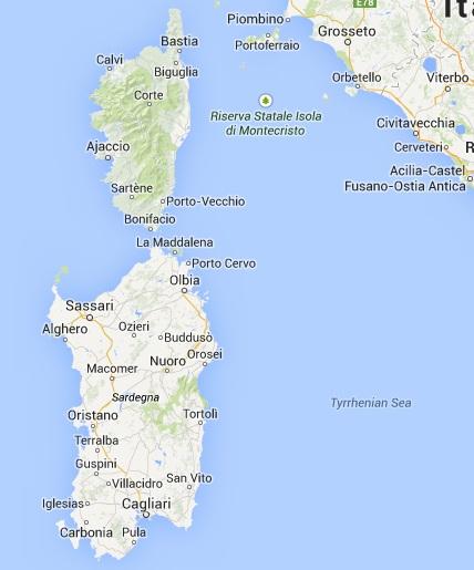 Сардиния и Корсика
