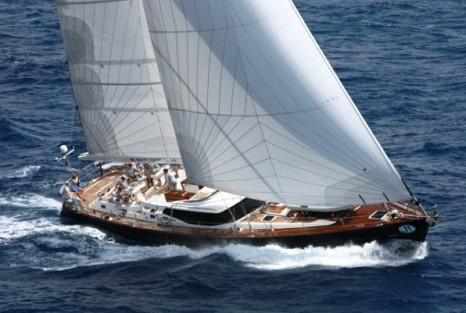 парусная яхта для кругосветного путешествия - фото