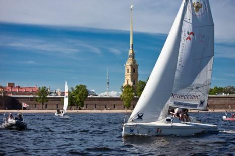 обучение яхтингу в СПб - фото