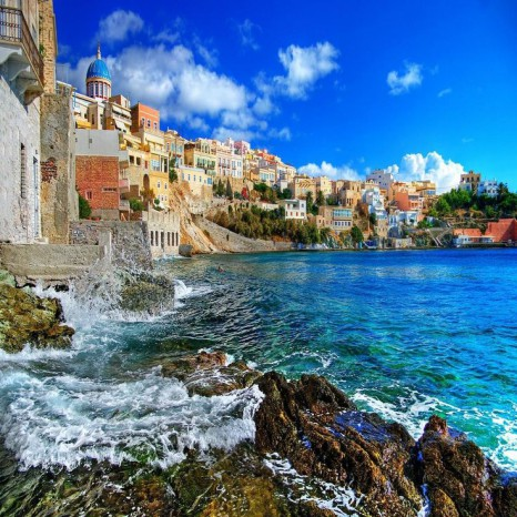 Остров Сирос, Греция