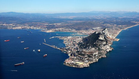 Spain Considers Gibraltar Border Fee...GIBRALTAR - AUGUST 08:  T