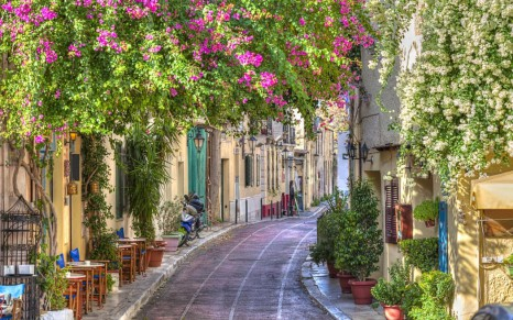 Athens-Plaka-greece