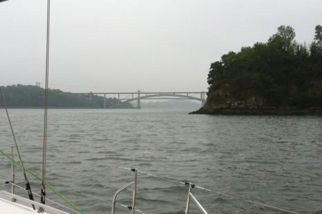 Первые два моста по реке La Rance