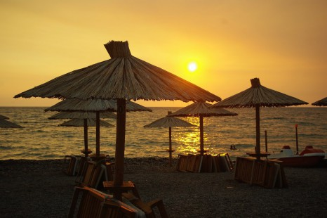 пляж в Баре