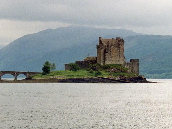 замок Шотландия - фото