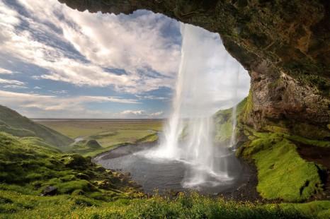 Исландия-водопад