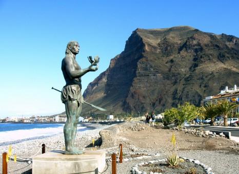 La_Gomera_Valle_Gran_Rey_Statue