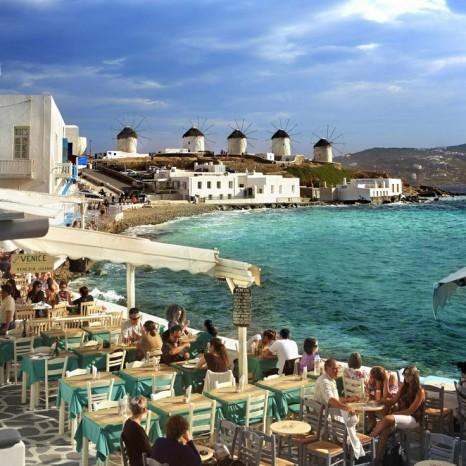 Остров Миконос, греческая Ибица