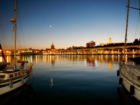 View Malaga From Muelle 1_01