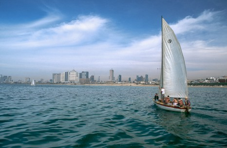 Sailboat - Tel Aviv, 2001