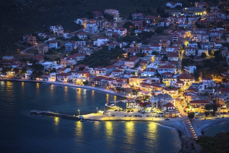 Nighthaven of Monemvasia in Greece.