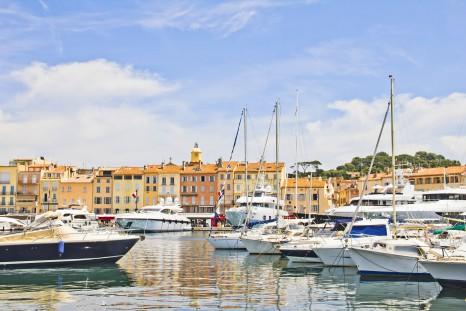 Port of Saint-Tropez, France