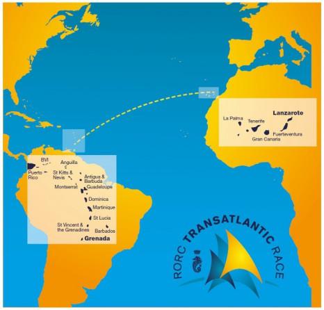 маршрут transatlantic