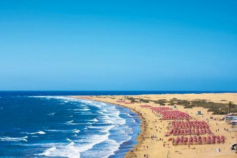 Playa del Ingl s, Maspalomas, Gran Canaria, Canary Islands, Spai